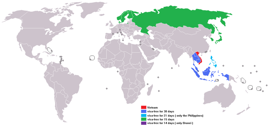 Виза во Вьетнам для россиян 2017: нужна ли, получение длительной