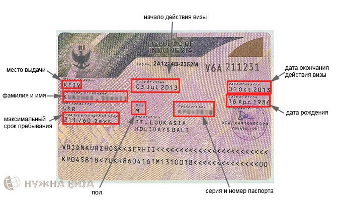 долгосрочная индонезийская виза