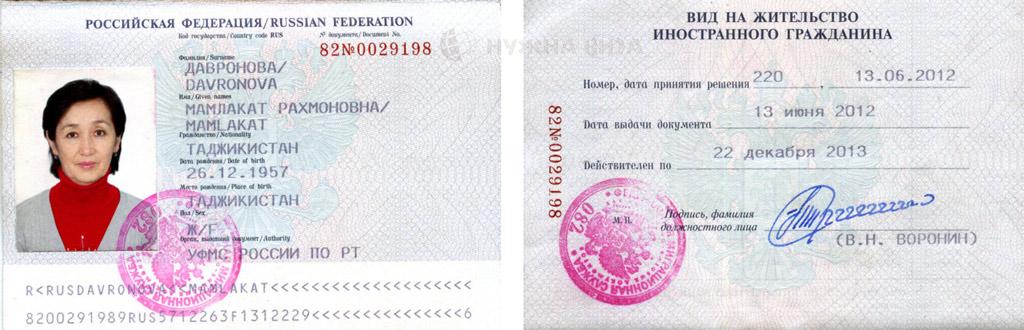 Вид на жительство (ВНЖ) РФ: как получить, документы, порядок
