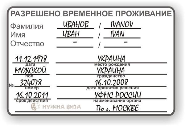 РВП в России в 2018 году: получение, документы, образцы