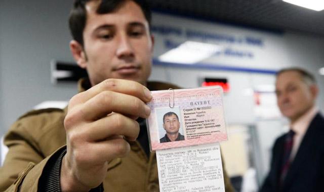 Патент на работу для иностранных граждан в РФ в 2018 году