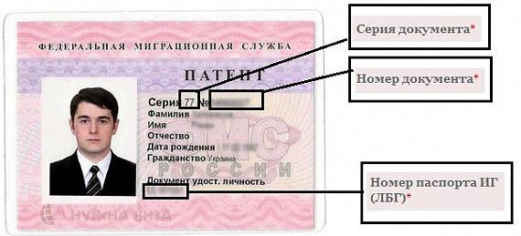 Патент на трудовую деятельность для иностранных граждан стоимость